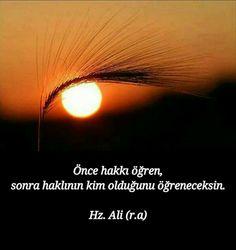 Hz.Alî Religion, Allah Islam, Meaningful Words, Islamic Quotes, Cool Words, Karma, Slogan, Favorite Quotes, Lyrics