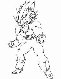 Colouring Majin Vegeta Yahoo Image Search Results Dragon Ball Art Coloring Pages Dragon Ball Z