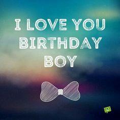 Birthday Love for him