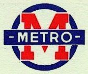 Logo du Métro Parisien vers 1930.