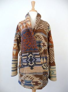 Ralph Lauren Indian Blanket Sweater Cardigan (vintage)