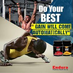 "Endura Premiere Health Series - Do Your Best. "" Gain will come automatically"". Visit us @ http://premierehealthseries.com/  #WheyProtein #ProteinPowder #BodybuildingSupplements #IndianBodybuildingSupplements #Protein #EnduraPremiereHealthSeries"