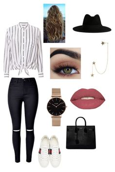"""Geen titel #116"" by strotsenburg on Polyvore featuring mode, Equipment, Gucci, CLUSE, Zimmermann, Yves Saint Laurent en Smashbox"