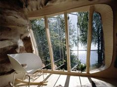 Dragspelhuset by 24 Hours Architecture. A contemporary Thoreau's cabin ?