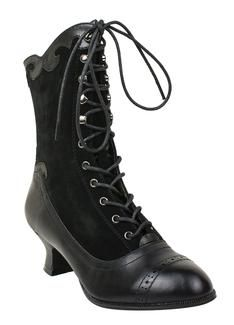 Miss L Fire Victoriana Boot - $138- These are on sale if you are lucky enough to wear a size 38 or 39!! I got mine!