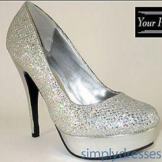 Ava Closed Toe Heel at SimplyDresses.com