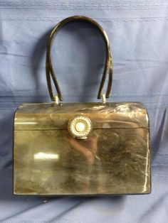528ca8542772e 75 Best Vintage Lucite Purses images in 2019