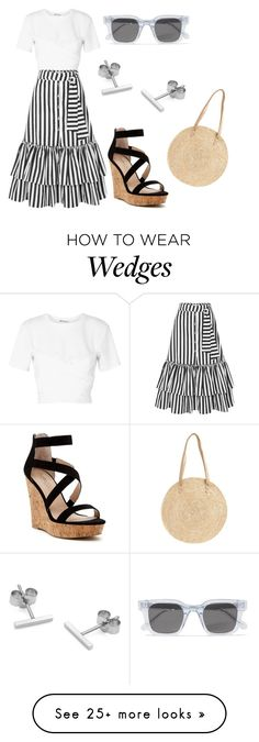 """Без названия #3763"" by claire-hamilton-bristol on Polyvore featuring T By Alexander Wang, Caroline Constas, Charles by Charles David, Chimi, Myia Bonner and BP."