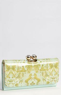 Ted Baker London 'Equestrian Print' Matinee Wallet available at #Nordstrom