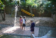 SplashGround is the easy and affordable solution for anyone looking to bring the fun and excitement of a splash pad into their backyard.