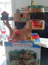 Sylvanian families vintage epoch Tomy 1980's Nursery Tree House boxed