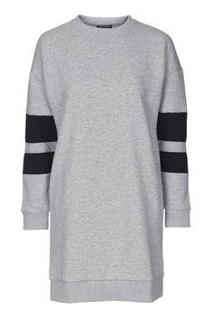 PETITE Sporty Sweatshirt Dress - Topshop