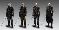 Witcher's armors concept 4 by Afternoon63 on DeviantArt