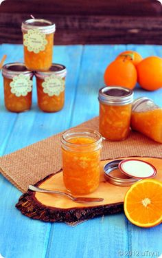 Orange Marmalade with Meyer Lemon...Summer treat, or any time treat.  :)