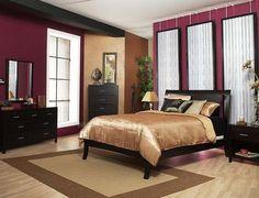 maroon bedroom ideas | 2008-2014 michael dur. sitefirefish