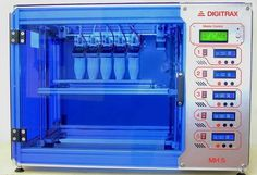3D Printing 5 Objects Simultaneously with Digitrax MH 5 #3DPrinting #Manufacturing #STEM