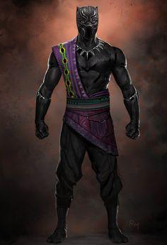Black Panther Concept by Ryan Meinerding Marvel Women, Marvel Comic Universe, Marvel Girls, Marvel Dc Comics, Marvel Heroes, Comics Universe, Black Panther Character, Black Panther Art, Black Panther Marvel