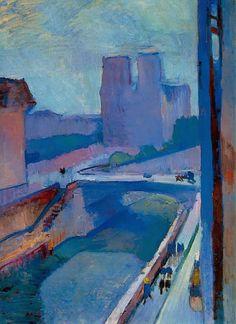 Matisse • Glimpse of Notre Dame, 1902