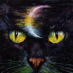 "creese: ""Michael Creese, Moon Cat """