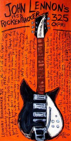 LES BEATLES dans ma vie noir guitare chant lyrique Citation Imprimé