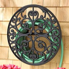 Get your garden ready with plenty of hoses to choose from, nozzles, garden storage and decorative hose storage pots and hose reel holders. Water Hose Holder, Garden Hose Holder, Hose Cart, Garden Hose Storage, Hose Hanger, Whitehall Products, Hose Reel, Ideias Diy, Metal Art