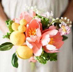 Niet-traditioneel bruidsboeket: lekker anders | ThePerfectWedding.nl