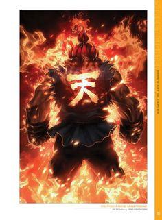 Akuma Pin by john on street fighter Street Fighter Hadouken, Street Fighter Tekken, Art Of Fighting, Fighting Games, Street Fighter Wallpaper, Comic Art, Snk King Of Fighters, Character Art, Character Design