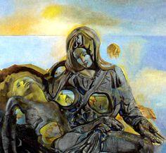 Salvador Dali - La Pieta 1960