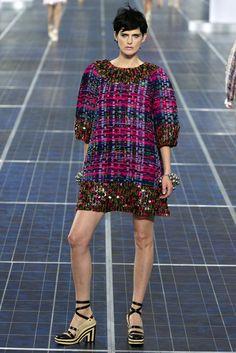 Chanel Spring 2013 Ready-to-Wear Fashion Show - Stella Tennant