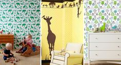 Wall Stencil designs that are perfect for little boys rooms!