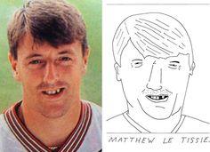 Beautiful Games.: Matthew Le Tissier - Badly drawn footballers by Sean Ryan