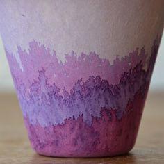 DIY - Dip-dyed pots