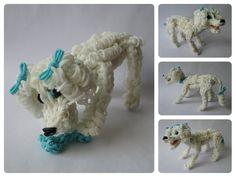 Rainbow Loom  poodle Part 1/3 Loombicious