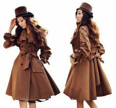 Amazon.co.jp: donum(ドーヌム) フリル カラー トレンチ コート ポンチョ レディース: 服&ファッション小物