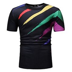 Global Online Shopping for Dresses, Home & Garden, Electronics, Wedding Apparel Men Street, Street Chic, Online Shopping, Royal Blue Shorts, Tee Shirts, Tees, Fashion Prints, Daily Wear, Colorful Shirts