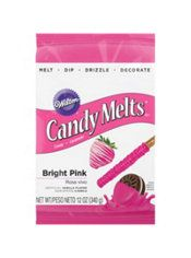 Bright Pink Candy Melts 21st Birthday