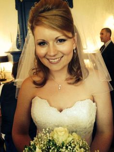 Wedding hair and make up, jewellery from Swarovski, dress maggie sottero 'Lorie' :)