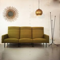 Located using retrostart.com > Sofa by Unknown Designer for Steiner Meubles