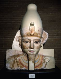 Egypt, Abydos. A fragment of a colossal figure. Locus: Portal Temple. Periods:18th through the 19th Dynasties,