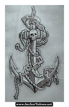 Us Fleet tattoo designs   Navy Anchor Tattoo