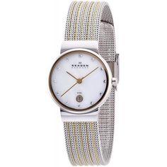 Women's Skagen Watch Ancher Mother of Pearl - Crivelli Shopping Skagen Watches, Big Watches, Best Watches For Men, Sport Watches, Cool Watches, Online Watch Store, Watch Sale, Automatic Watch, Digital Watch