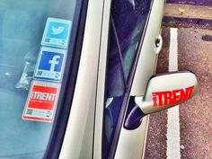 The guys at Charles Trent are now sporting a social looking #taxdisc alternative with our #Vantag product range #logotag #socialmedia #sociamediamarketing