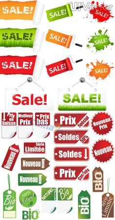 SALE sale tag vector