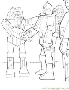 Transformers Megatron Robots Coloring Pages transformers