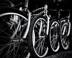 Key West bikes. Shot w/a Fuji GF670 | #jhunterphoto