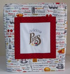 Kitchenaid Mixer Cover Delicious Pies Mixer by PatsysPatchwork