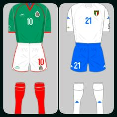 Mexico 1 Italy 1 in 2002 in Oita. Mexico topped Group G with Italy 2nd. Croatia and Ecuador exit the World Cup.