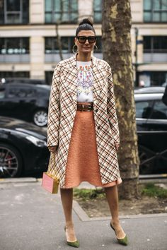 Paris Fashion Week Street Style Fall 2018 Day 8 Cont. - The Impression