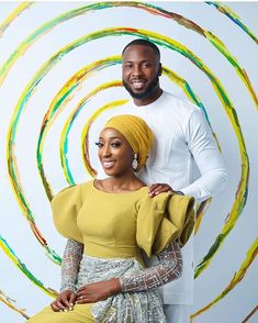 Zainab & Ibrahim's Pre-wedding Shoot is a Burst of Colours + their Love Story is Cute African Lace Dresses, African Fashion Dresses, African Attire, Nigerian Traditional Wedding, Wedding Shoot, Wedding Tags, Wedding Blog, Wedding Ideas, African Tops