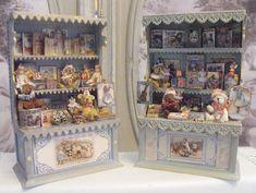 LE COFFRE D'EMILIE: De nouveaux petits présentoirs de jouets